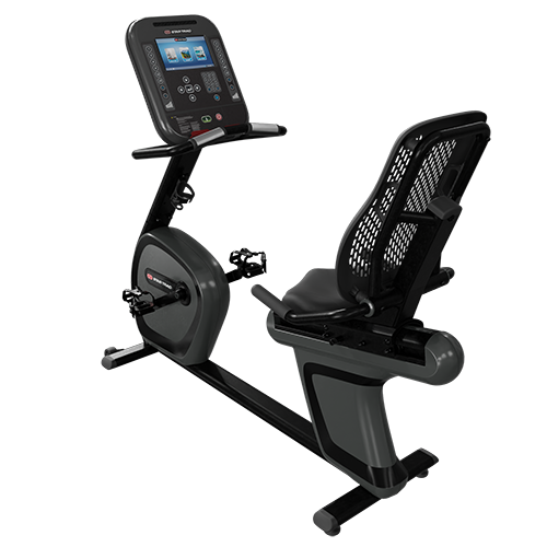 """4RB - StarTrac 4 Series RECUMBENT BIKE with10"""" LCD Cardio Console"""