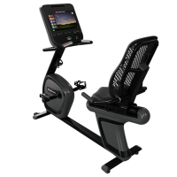 """4RB - StarTrac 8 Series / 4 Series RECUMBENT BIKE with 15"""" CAPACITIVE TOUCH OPENHUB CONSOLE"""