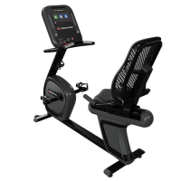 """4RB - StarTrac 4 Series RECUMBENT BIKE with 10"""" TOUCHSCREEN CARDIO CONSOLE"""